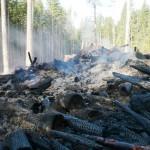 BCTS slash pile burning on B+K Rd  above Roberts Creek 017