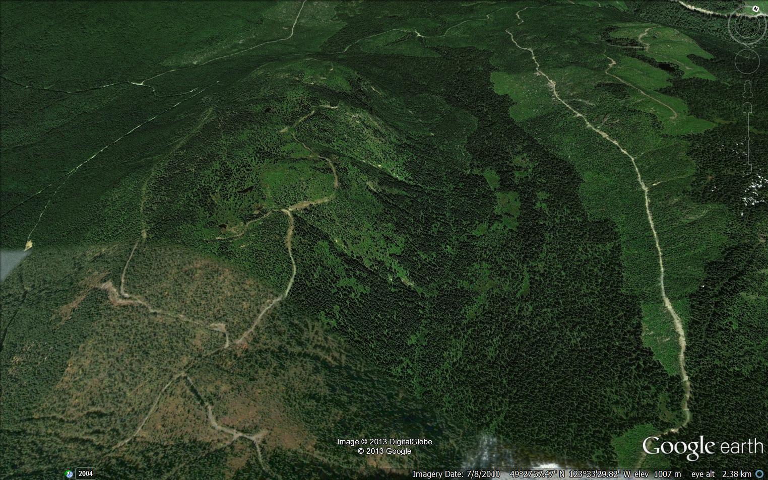 Google Earth - Maps - Dakota Bowl Watershed - Elphinstone ... on google maps street view world, google maps street view location, google maps france, google maps update 2013, google maps 2014,