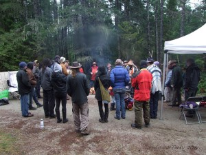 Local Community and shishalh Nation Members Gather to Support  Protection - Image Credit - K. Cafferky - ©2016