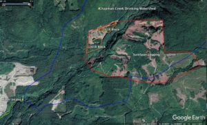 Surespan logging operations Chapman Creek Watershed 2018