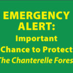 Emergency Alert- Chanterelle Forest