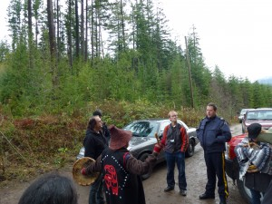 """Community Forest"" calls on Police to arrest local citizens in order to log Wilson Creek Forest"