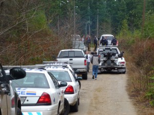 Arrests - Wilson Creek Forest - Massive RCMP Response called on by Community Forest