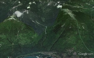 Potlatch Valley 2013 Google Map